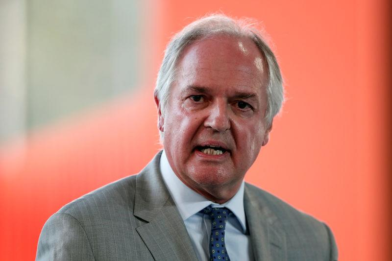 FILE PHOTO: Paul Polman, chief executive officer of Unilever Plc, attends the MEDEF union summer forum on the campus of the HEC School of Management in Jouy-en-Josas, near Paris