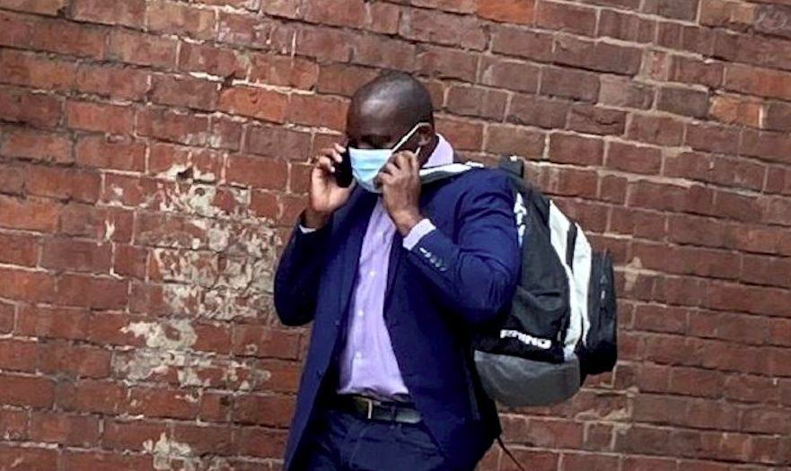 James Ndungu was caught out by vigilante paedophile hunters who set up fake online profiles posing as teenage girls. (SWNS)