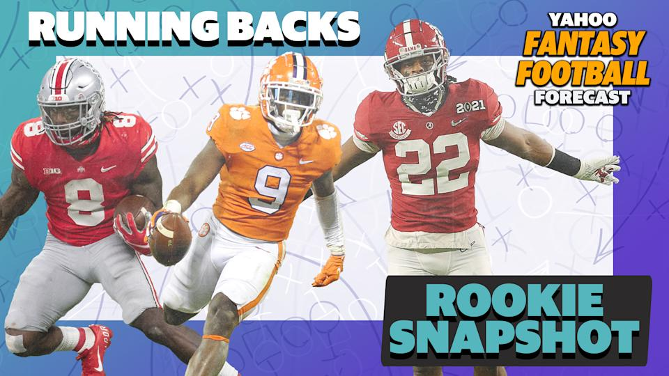 Who will be the best fantasy running back in the 2021 NFL Draft?
