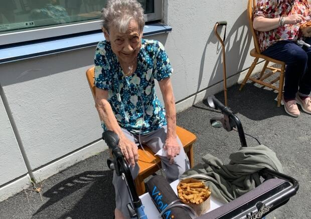 Bridgette Richards, 84, got her chips in June thanks to St. John's-based tech company Verafin.