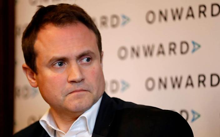 Tom Tugendhat has been sanctioned by China and faced cyber attacks - AFP