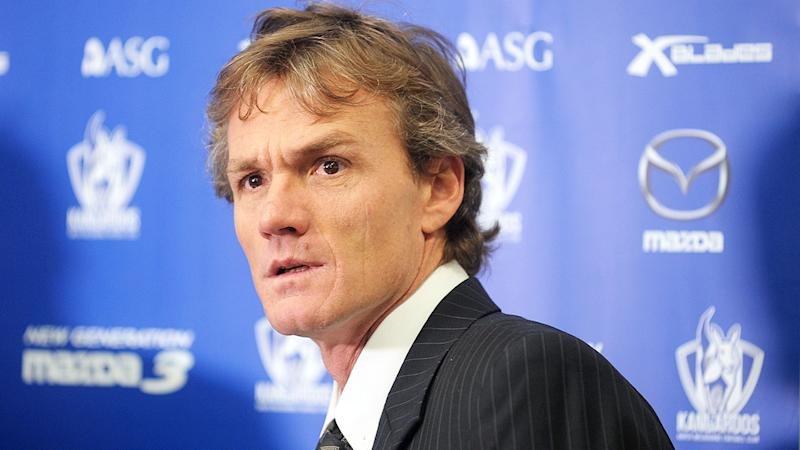 Pictured here, former North Melbourne head coach Dean Laidley.