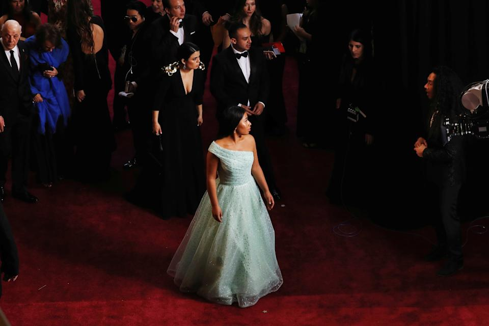 91st Academy Awards - Oscars Arrivals - Red Carpet - Hollywood, Los Angeles, California, U.S., February 24, 2019 - Yalitza Aparicio wears Rodarte. REUTERS/Lucas Jackson     TPX IMAGES OF THE DAY