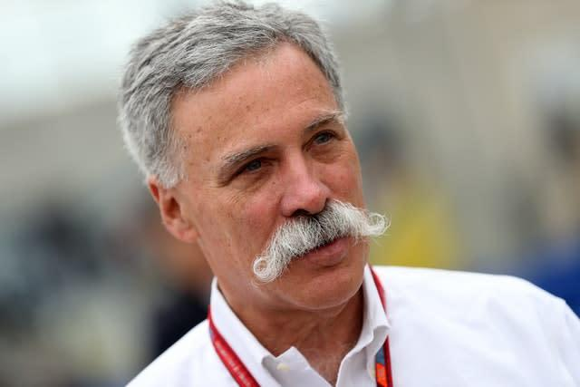 F1 chief executive Chase Carey is hopeful of starting the season in Austria (David Davies/PA)