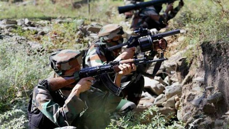 Jammu And Kashmir: Two Soldiers Martyred, 4 Injured in Ceasefire Violation by Pakistan Along LoC in Nuagam Sector; Indian Army Gives Befitting Reply