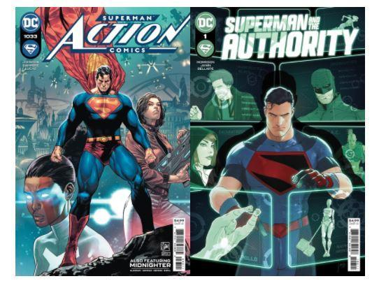 Kal-El is still Superman in Action Comics and Superman and the Authority.