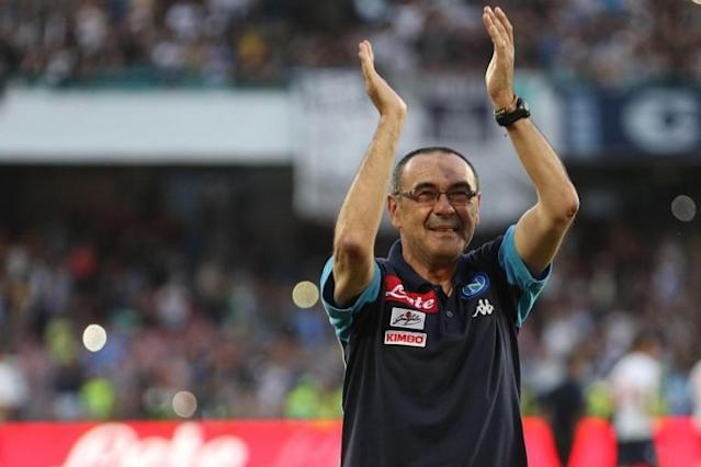 Maurizio Sarri hints at Napoli exit amid Chelsea interest as he rules out staying in Italy