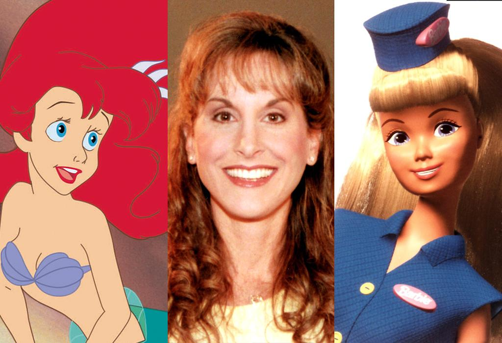 Ariel and Barbie= Jodi Benson (singing and voice)