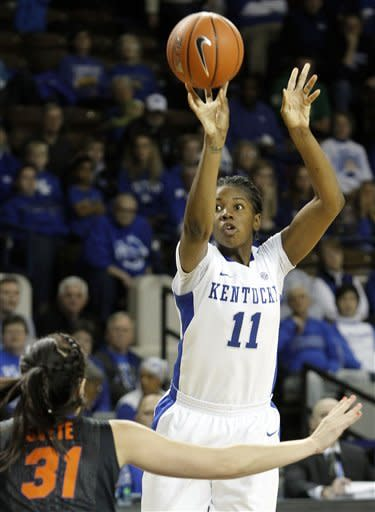 No. 6 Kentucky tops Florida 76-69
