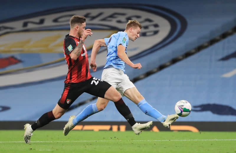 Man City teenager Delap revels in dream debut