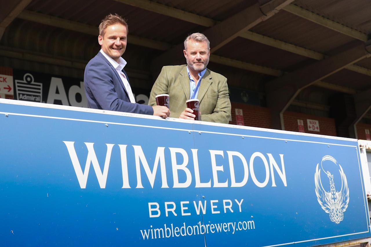 AFC Wimbledon hark back to history with own lager called 'Wimbledon 1889'