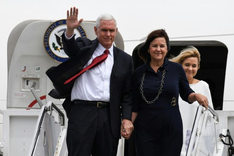 US Vice President Mike Pence has arrived in Japan armed with commitments designed to soothe his nervous hosts, who are worried by North Korea's growing belligerence