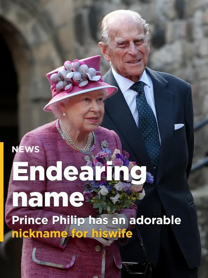 Prince Philip's nickname for wife Queen Elizabeth is
