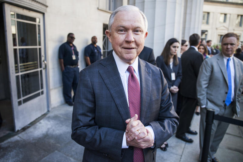 Attorney General Jeff Sessions (Zach Gibson via Getty Images)