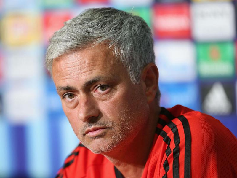 Manchester United could face Jose Mourinho's former side Real Madrid in the Champions League group stages: Man Utd via Getty Images