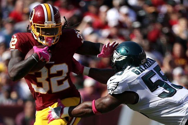Robert Kelley was a pleasant surprise for the Redskins last season. (Getty)