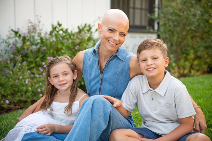 Amy Jordan was surprised when her children weren't too scared about her having cancer. She learned that they became more empathetic and resilient.  (Courtesy Gregory Zabilski / @gregoryzabilski)