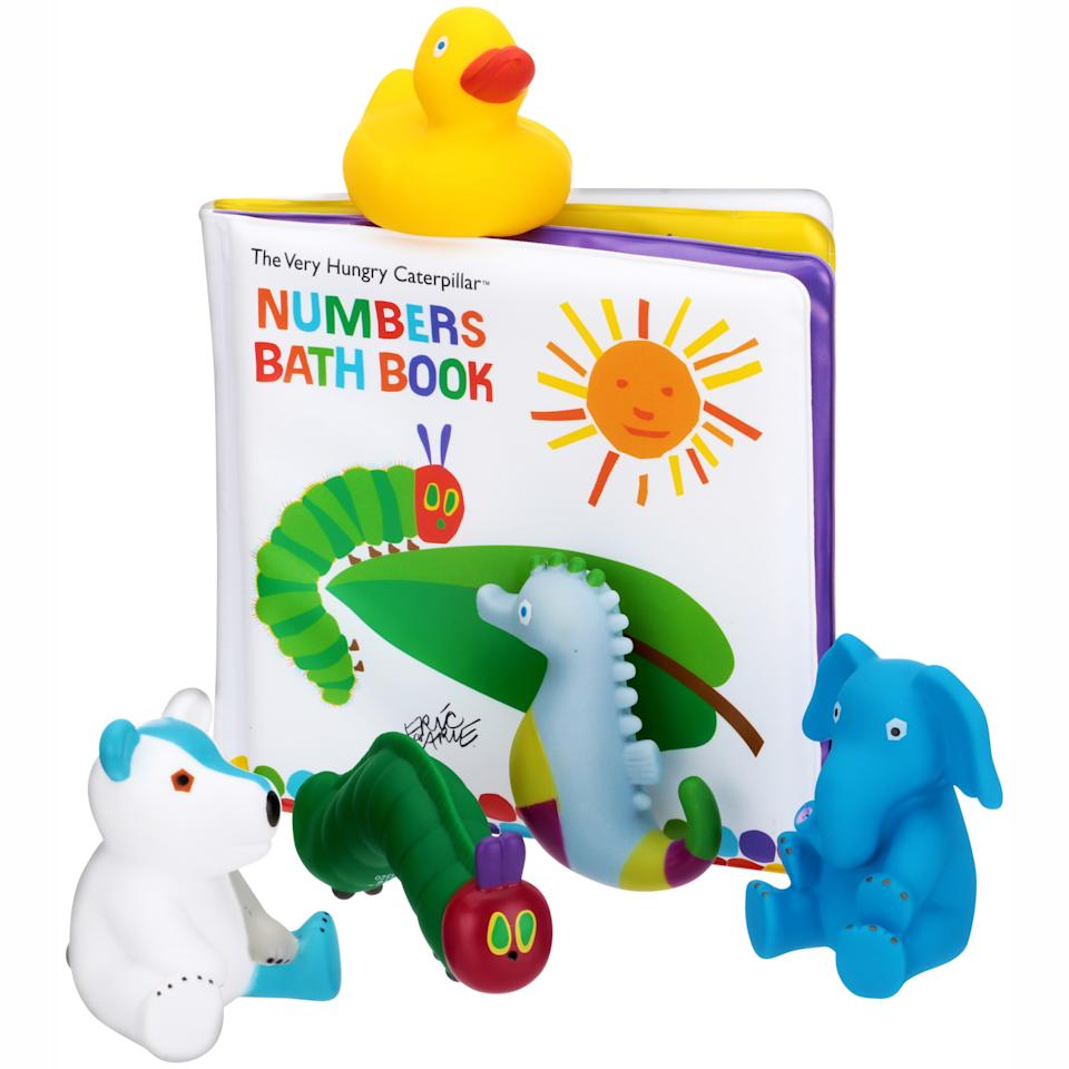The World of Eric Carle Bath Book & 5 Squirty Gift Set Pack (Walmart / Walmart)