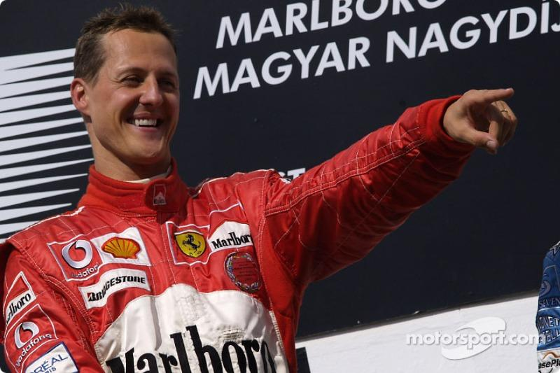 "Michael Schumacher (72 victorias) <span class=""copyright"">Ferrari Media Center</span>"