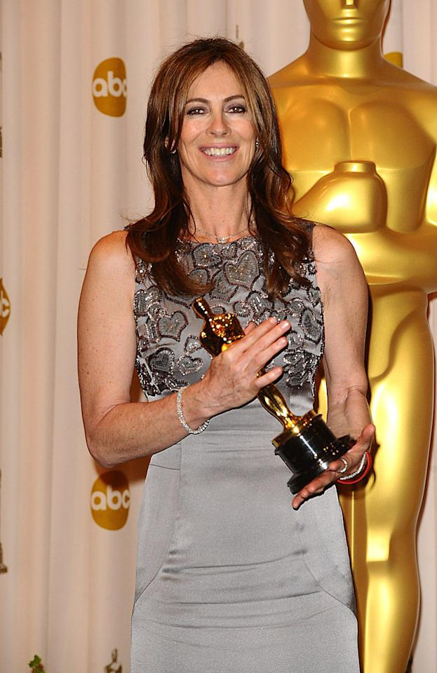 "<p>Kathryn Bigelow earns Best Director and bests ex-husband James Cameron in the process – Ask anyone in the '90s if they ever thought the former husband and wife directors of ""Point Break"" and ""The Terminator"" would one day compete for the highest filmmaking honour at the Academy Awards, and you'd get some very strange looks. But at the 2010 Oscars, compete for the Best Director prize Kathryn Bigelow (""The Hurt Locker"") and James Cameron (""Avatar"") did. Bigelow won out and became the first female filmmaker in Oscar history to earn the honour. A sweet victory for Bigelow and her humbly made Iraq war movie, which though much-loved by critics couldn't hope to compete with Cameron's 3D CGI epic ""Avatar"" in terms of popularity or box office gross. Bigelow's latest film ""Zero Dark Thirty"" is up for Best Picture at the 2012 Oscars, while Cameron still toils away on his submarines and much-ballyhooed ""Avatar"" sequels.</p>"