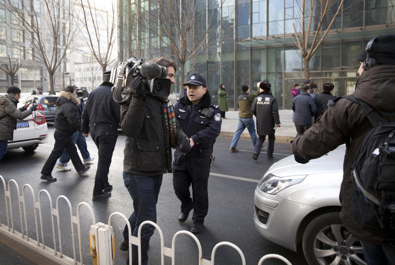 China visa woes for NYT as government ups pressure