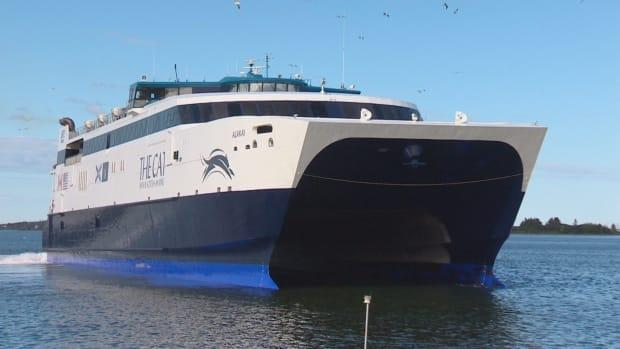 The Cat ferry has not sailed between Nova Scotia and Maine for the last three years. (Brett Ruskin/CBC - image credit)