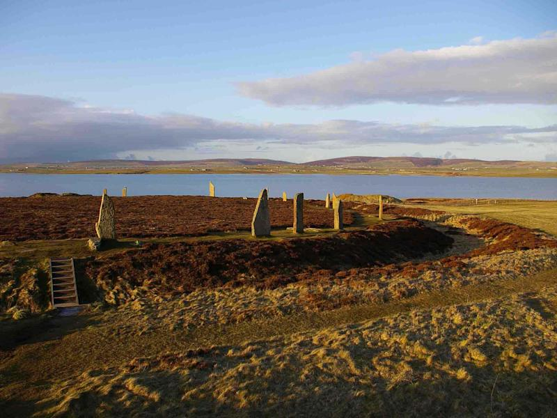 The Ring of Brodgar originally had 60 stones, but now has 27: Colin Richards, Historic England