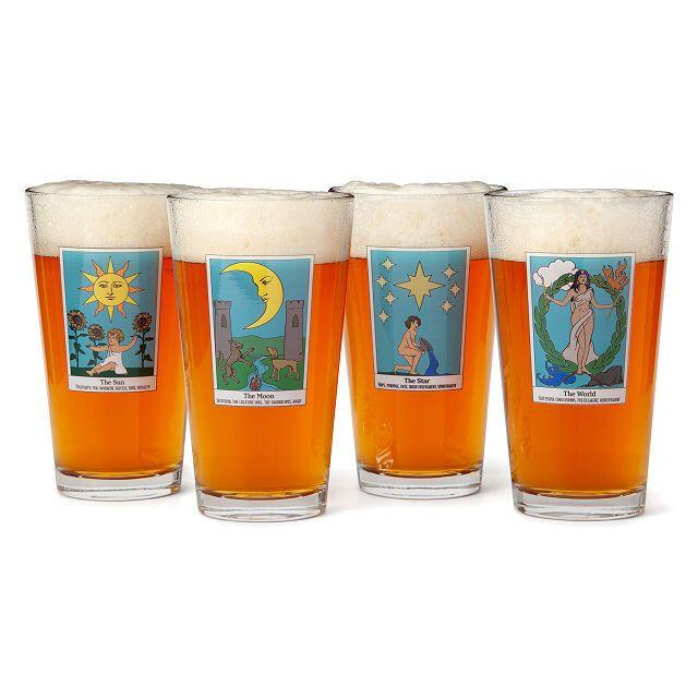 """You might need a drink (or two) to get through this retrograde. And these tumblers will be there for you. <a href=""""https://fave.co/3bOnsKF"""" target=""""_blank"""" rel=""""noopener noreferrer"""">Get one tumbler for $16 or the set of four for $60 at Uncommon Goods</a>."""