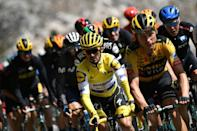 Citroen's millions means world champion Julian Alaphilippe seen here in yellow could join the team