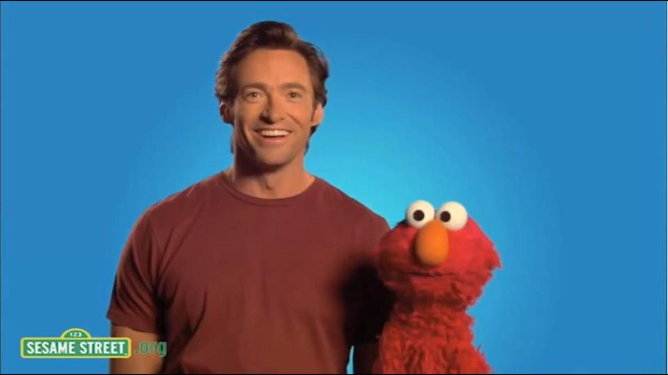 Over the past 50 years, Sesame Street has featured countless celebrity guest appearances, including Hugh Jackman (above)