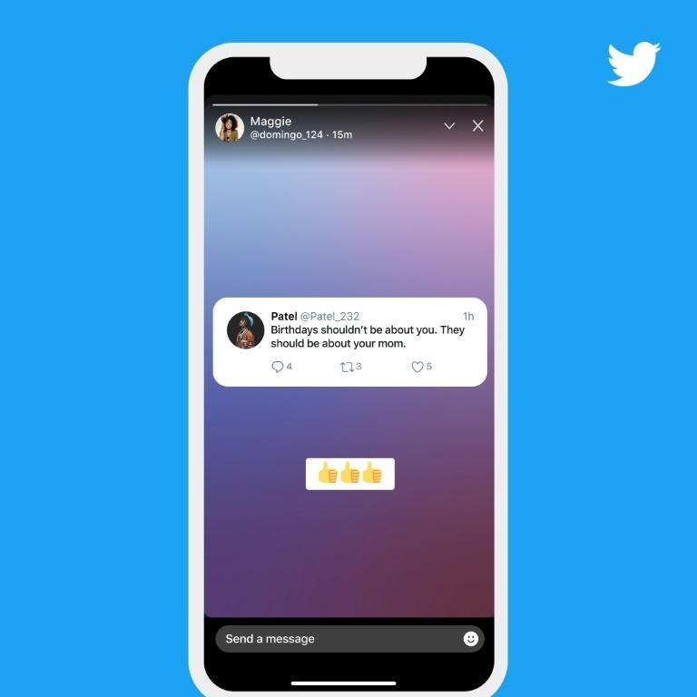 """Twitter's new """"fleets"""" which had been tested in several countries in recent months are """"for sharing momentary thoughts"""" and aim to bring in users who want to avoid having their comments become permanent fixtures"""