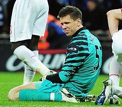 The Carling Cup final may not have been the best stage for rookie goalkeeper Wojciech Szczesny