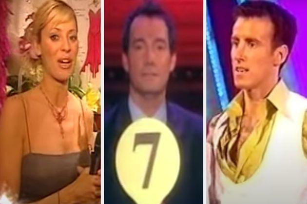 Tess Daly, Craig Revel Horwood and Anton Du Beke during the very first series (Photo: BBC)