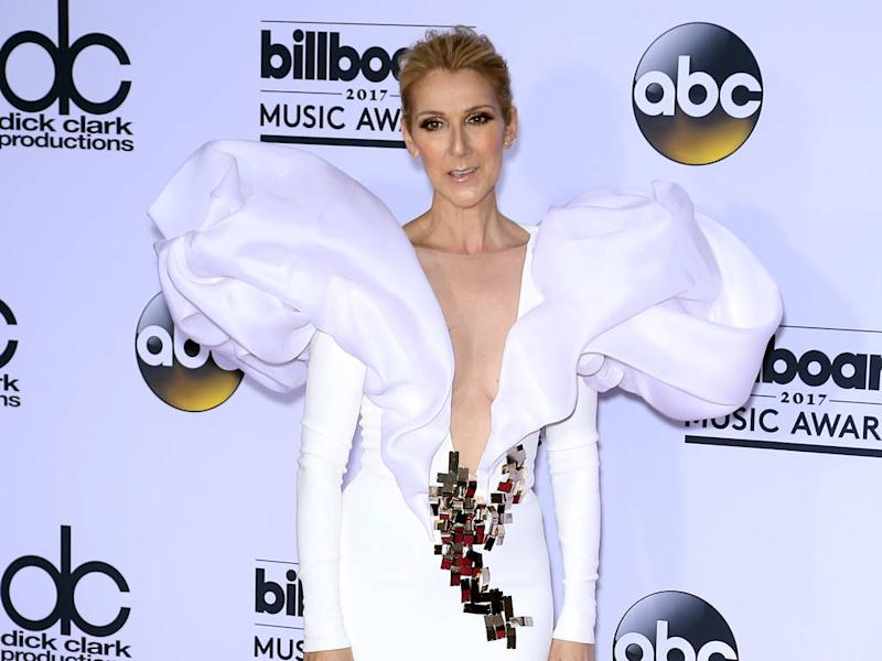 Celine Dion: 'You can never go too big with fashion'