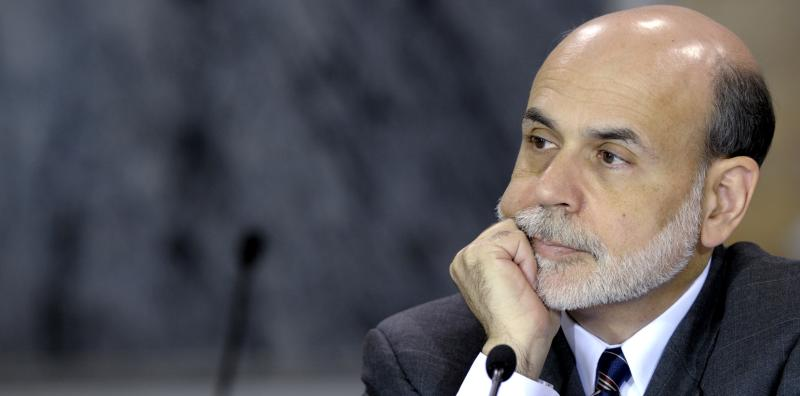 FILE -- In a Nov. 23, 2010 file photo Federal Reserve Chairman Ben Bernanke listens during a meeting at the Treasury Department in Washington. Bernanke and his colleagues will gather Tuesday, Dec. 14, 2010 for their last scheduled meeting of 2010, and no policy changes are expected. (AP Photo/Susan Walsh/file  )