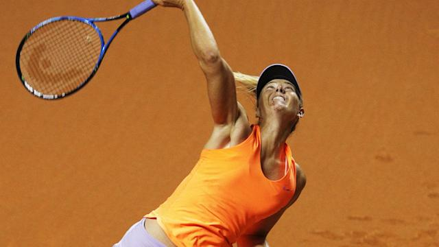 After a 15-month absence from the WTA Tour, Maria Sharapova was delighted to return with a win on Wednesday.