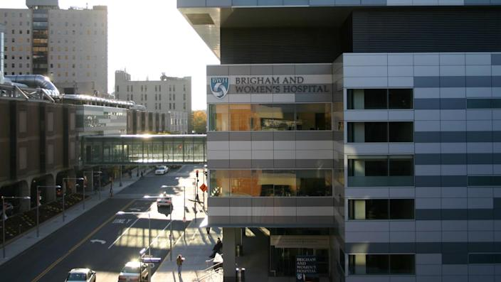 Exterior of Brigham and Women's Hospital in Boston