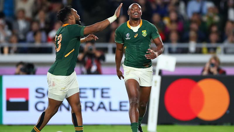 Springboks World Cup winners in Jones' Barbarians squad