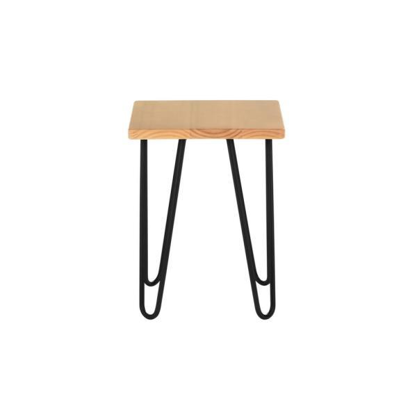 StyleWell Honey Wood End Table