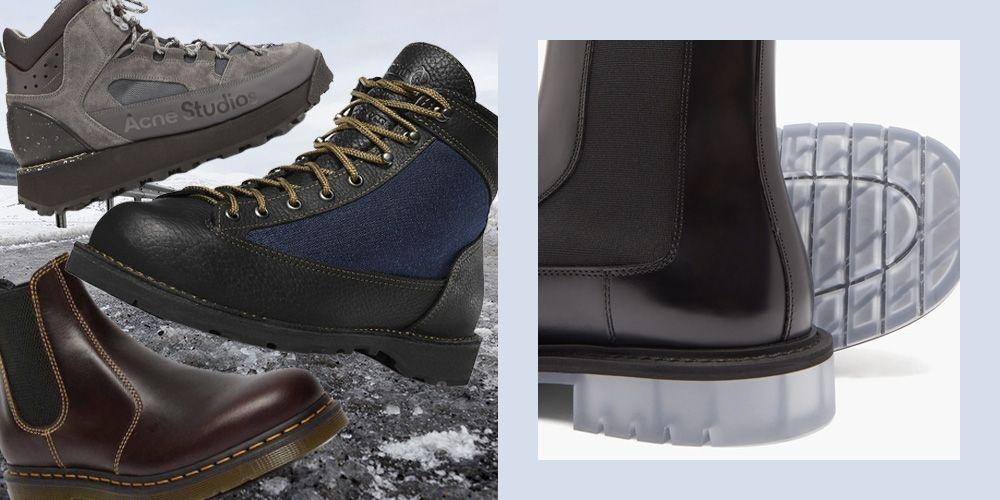"""<p>A <a href=""""https://www.esquire.com/uk/style/shoes/a29889649/best-mens-winter-boots-guide/"""" target=""""_blank"""">great pair of boots</a> is a necessity for every man's winter wardrobe. The criteria to consider for a winter boot, opposed to a summer boot, is less of a sleek, narrow silhouette made from perhaps fine suede or a soft, supple Italian leather and instead, more of a chunky, welted commando sole (Vibram is always good) to help you grip to those icy pavements and a sturdy leather, made waterproof with a wax or oil coating. It's worth considering your budget as well, as spending a little more in the winter boot category will definitely extend the shoes' shelf life – remember, these will be saving you from all the harsh elements. You don't need to go over the top when it comes to protection. No, steel toe caps are not necessary. You still want the boot to be stylishly versatile. A chunky boot can and should still be styled with tailoring and everything in-between. To help you be winter ready, we have found the best boots out there, so you don't have to:<br></p>"""