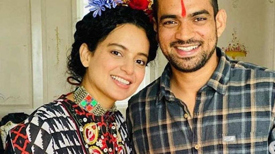 Kangana to host her brother