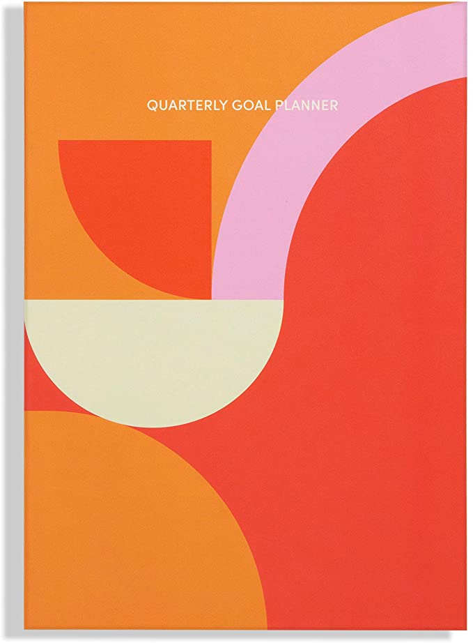 """<h3><a href=""""https://amzn.to/39cW7kL"""" rel=""""nofollow noopener"""" target=""""_blank"""" data-ylk=""""slk:Poketo Quarterly Goal Planner"""" class=""""link rapid-noclick-resp"""">Poketo Quarterly Goal Planner</a></h3><br>This stylish and slim planner aims to elevate your self-prioritizing abilities through 12-open-dated-month's worth of orderly formats and prompts for introspective journaling. <br><br><strong>Poketo</strong> Quarterly Goal Planner, $, available at <a href=""""https://amzn.to/39cW7kL"""" rel=""""nofollow noopener"""" target=""""_blank"""" data-ylk=""""slk:Amazon"""" class=""""link rapid-noclick-resp"""">Amazon</a>"""