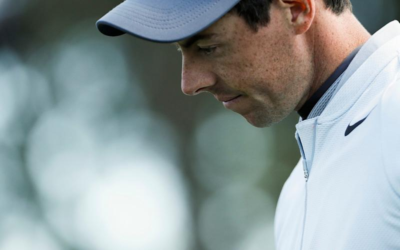 Rory Masters has an up-and-down day two - AP