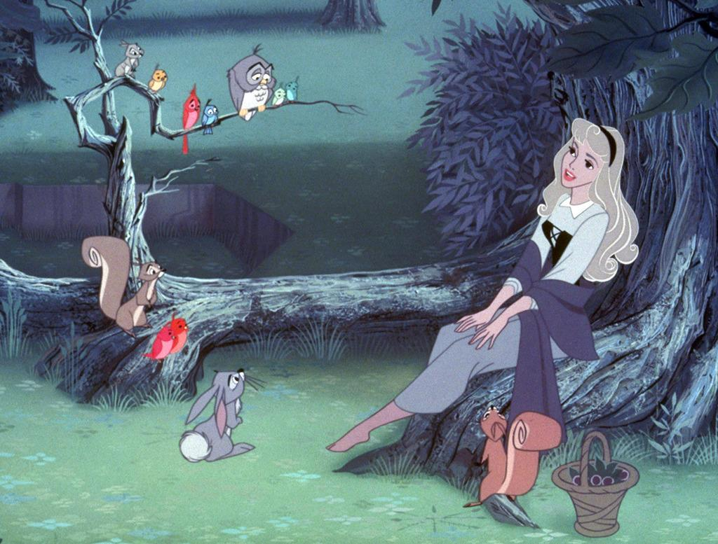 <p>Briar Rose, a.k.a. Princess Aurora, grew up with only three well-meaning fairy guardians to talk to. So it's not surprising that she would be so conversation-starved that she'd turn to a flock of silent forest dwellers for companionship. While they certainly appear to adore her, an owl dressed up in princely clothing is, ultimately, a dull substitute for an actual prince. (Photo: Disney) </p>