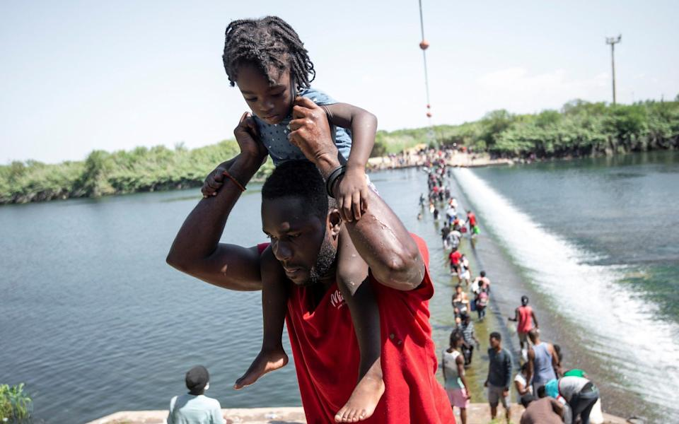US dispatches 1000 border force officers as it scrambles to contain Haitian migrant crisis on Rio Grande - Miguel Sierra/EPA-EFE/Shutterstock /Shutterstock