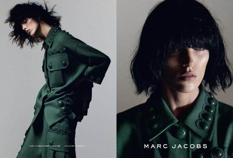 The Spring/Summer 2015 campaign from Marc Jacobs with Anja Rubik.
