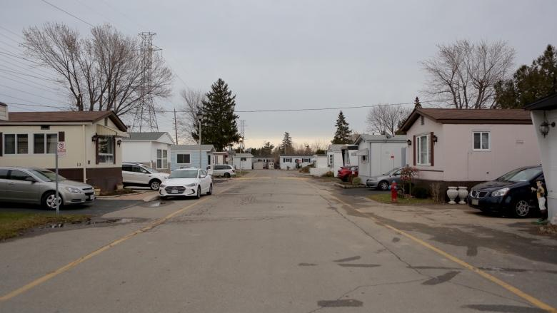 Can't sell, can't move: Owners stuck with 213 'worthless' mobile homes as Peel moves to develop land