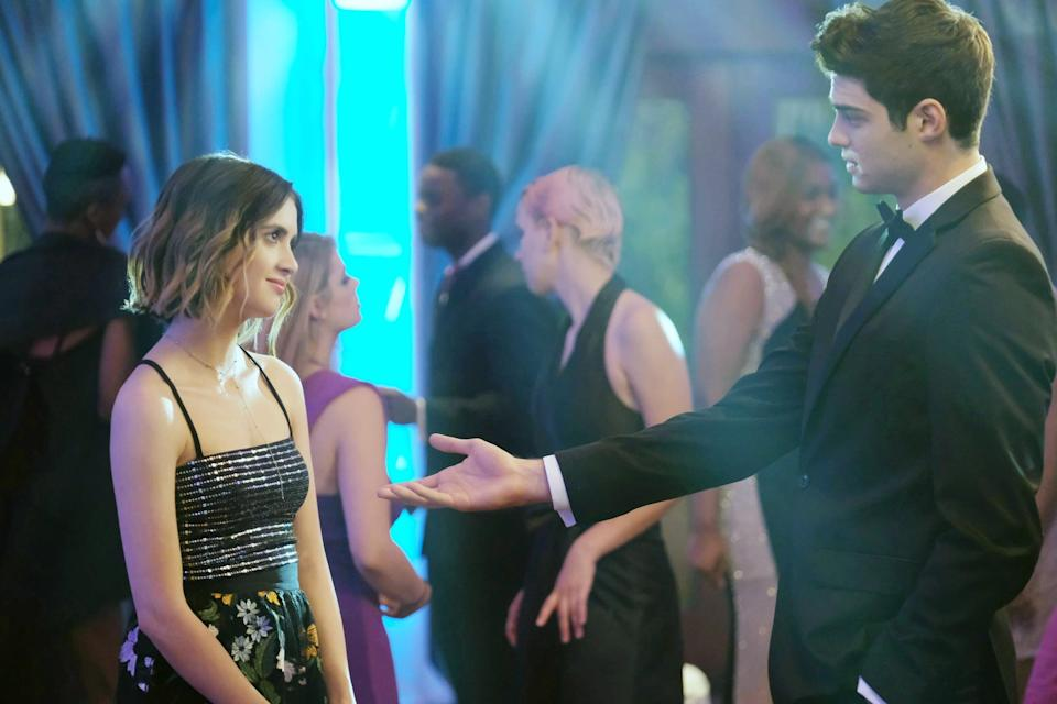 """<p>A college-bound teenager launches a dating-for-hire service to help pay for college, but his real feelings soon cause him to try to hide his business from the girl he's falling for.</p> <p><a href=""""http://www.netflix.com/title/81019888"""" class=""""link rapid-noclick-resp"""" rel=""""nofollow noopener"""" target=""""_blank"""" data-ylk=""""slk:Watch The Perfect Date on Netflix."""">Watch <strong>The Perfect Date</strong> on Netflix.</a></p>"""