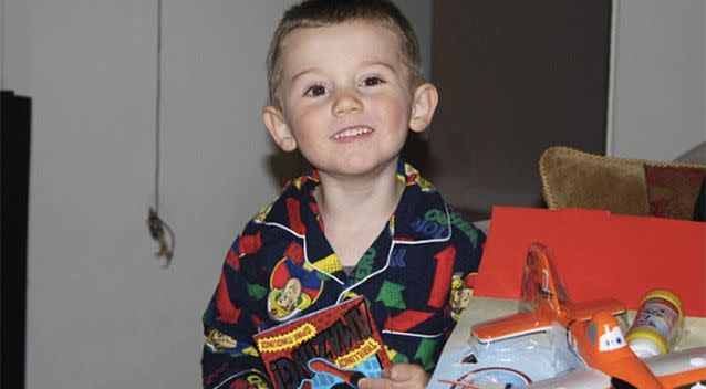 William would be turning seven in June. Source: NSW Police