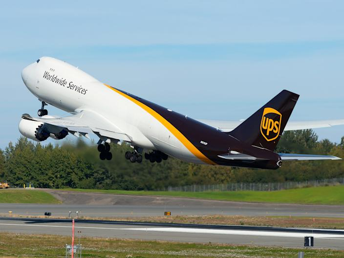 UPS Airlines Boeing 747-8F